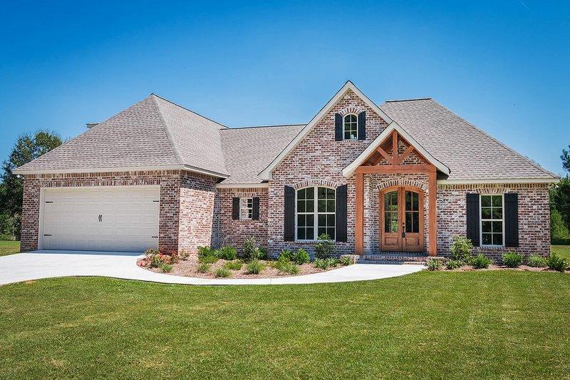 House Plan Design - European Exterior - Front Elevation Plan #430-89