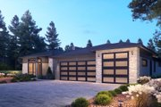 Contemporary Style House Plan - 5 Beds 3.5 Baths 3810 Sq/Ft Plan #1066-115