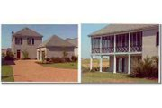 Traditional Style House Plan - 2 Beds 2.5 Baths 1741 Sq/Ft Plan #15-264 Exterior - Front Elevation