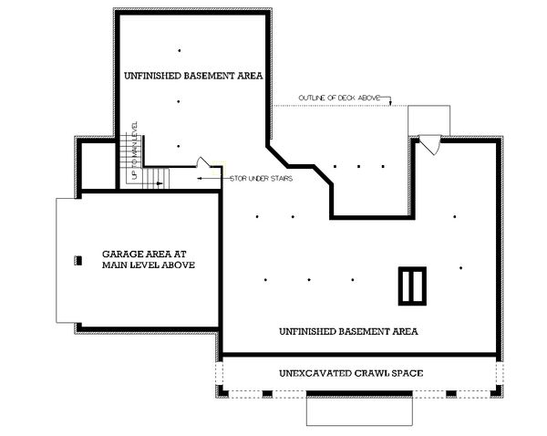 Colonial Floor Plan - Other Floor Plan Plan #45-123