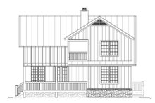 Country Exterior - Rear Elevation Plan #932-262