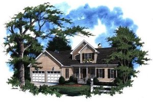 House Plan Design - Traditional Exterior - Front Elevation Plan #41-123