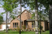 European Style House Plan - 3 Beds 2.5 Baths 2532 Sq/Ft Plan #449-6 Photo