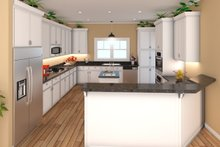 Traditional Interior - Kitchen Plan #21-348