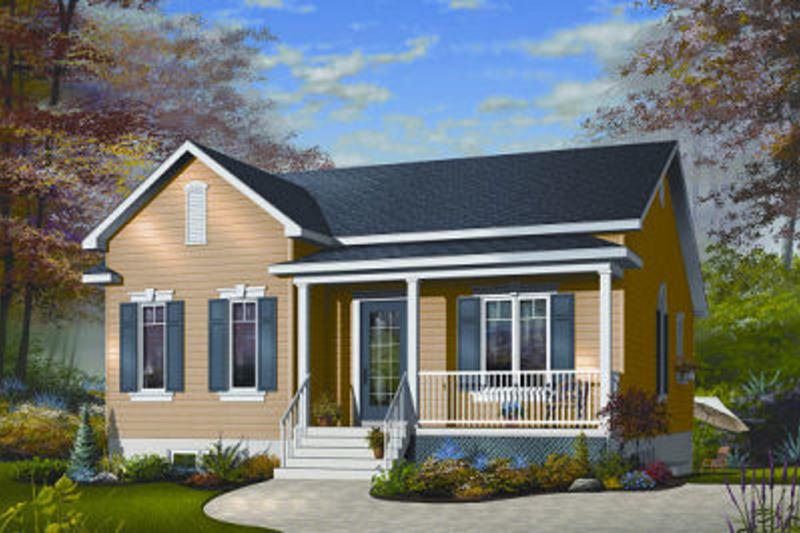 Farmhouse Exterior - Front Elevation Plan #23-692