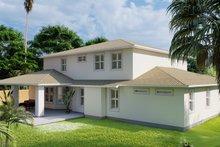 Dream House Plan - Mediterranean Exterior - Rear Elevation Plan #1060-29