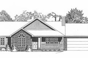 Traditional Exterior - Front Elevation Plan #58-130