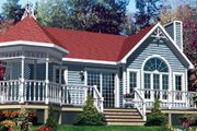 Traditional Style House Plan - 1 Beds 1 Baths 808 Sq/Ft Plan #138-290