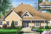 Traditional Style House Plan - 2 Beds 1.5 Baths 2515 Sq/Ft Plan #25-4120 Exterior - Front Elevation