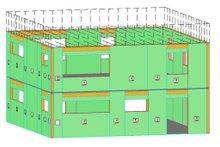 Architectural House Design - Modern Exterior - Other Elevation Plan #497-26