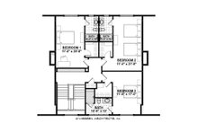 Country Floor Plan - Upper Floor Plan Plan #928-12