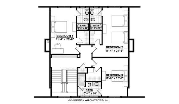 Home Plan - Country Floor Plan - Upper Floor Plan #928-12