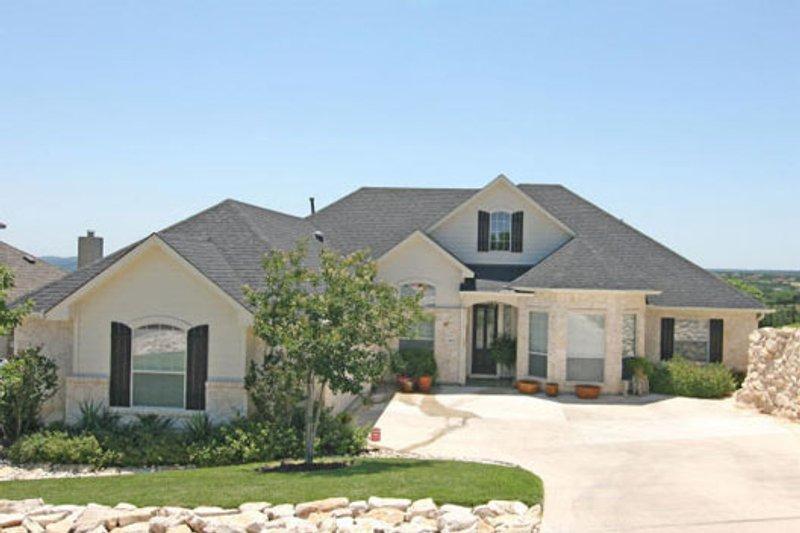 Dream House Plan - European Exterior - Front Elevation Plan #80-155
