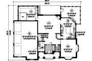 European Style House Plan - 3 Beds 2 Baths 3851 Sq/Ft Plan #25-4782 Floor Plan - Main Floor Plan