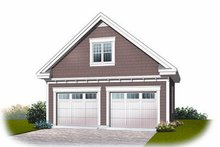 Traditional Exterior - Front Elevation Plan #23-767