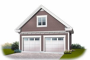 Dream House Plan - Traditional Exterior - Front Elevation Plan #23-767