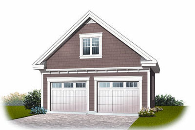 Home Plan - Traditional Exterior - Front Elevation Plan #23-767