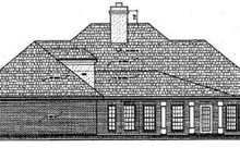 Traditional Exterior - Rear Elevation Plan #45-219