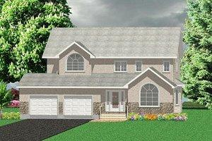 Farmhouse Exterior - Front Elevation Plan #414-109