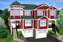 Dream House Plan - Victorian Exterior - Other Elevation Plan #126-152