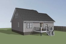 Dream House Plan - Traditional Exterior - Other Elevation Plan #79-148