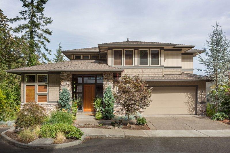Dream House Plan - Modern Exterior - Front Elevation Plan #48-247