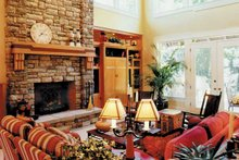 Craftsman Interior - Family Room Plan #48-150