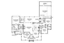 Farmhouse Floor Plan - Main Floor Plan Plan #1074-4