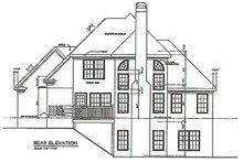 Traditional Exterior - Rear Elevation Plan #129-114