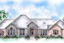 Dream House Plan - European Exterior - Front Elevation Plan #410-263