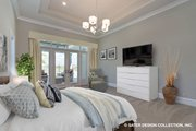 Contemporary Style House Plan - 5 Beds 4.5 Baths 4159 Sq/Ft Plan #930-509 Interior - Master Bedroom