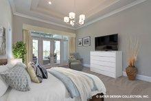 Home Plan - Contemporary Interior - Master Bedroom Plan #930-509