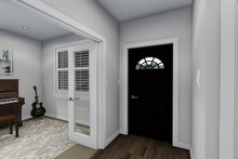 Ranch Interior - Entry Plan #1060-30