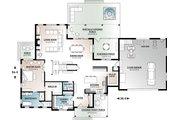 Farmhouse Style House Plan - 4 Beds 3.5 Baths 3532 Sq/Ft Plan #23-2687 Floor Plan - Main Floor