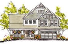 Home Plan Design - Craftsman Exterior - Front Elevation Plan #20-249