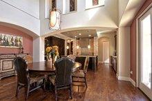 Architectural House Design - Mediterranean Interior - Dining Room Plan #80-221