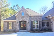 European Style House Plan - 3 Beds 2.5 Baths 2405 Sq/Ft Plan #430-133 Exterior - Covered Porch