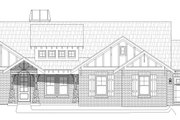 Southern Style House Plan - 3 Beds 2.5 Baths 2491 Sq/Ft Plan #932-80 Exterior - Front Elevation