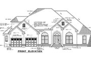 Traditional Style House Plan - 4 Beds 3 Baths 3033 Sq/Ft Plan #17-2121 Exterior - Other Elevation