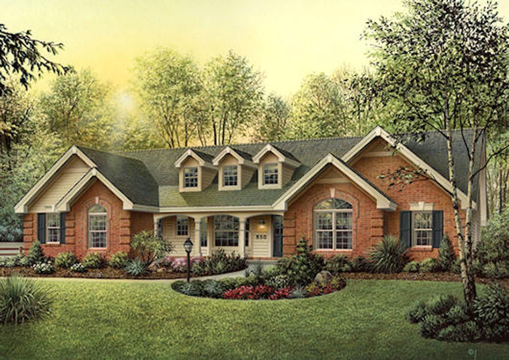 Country Style House Plan 4 Beds 3 Baths 1929 Sq Ft Plan