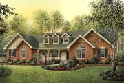 Country Style House Plan - 4 Beds 3 Baths 1929 Sq/Ft Plan #57-351