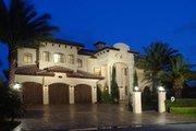 Mediterranean Style House Plan - 6 Beds 7.5 Baths 7100 Sq/Ft Plan #420-196 Photo