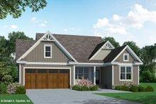 Craftsman Exterior - Front Elevation Plan #929-1105