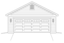 Country Exterior - Front Elevation Plan #932-116