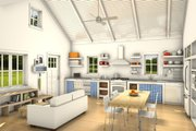 Cottage Style House Plan - 2 Beds 2 Baths 891 Sq/Ft Plan #497-23
