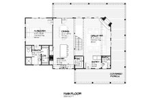 Cottage design, house plan