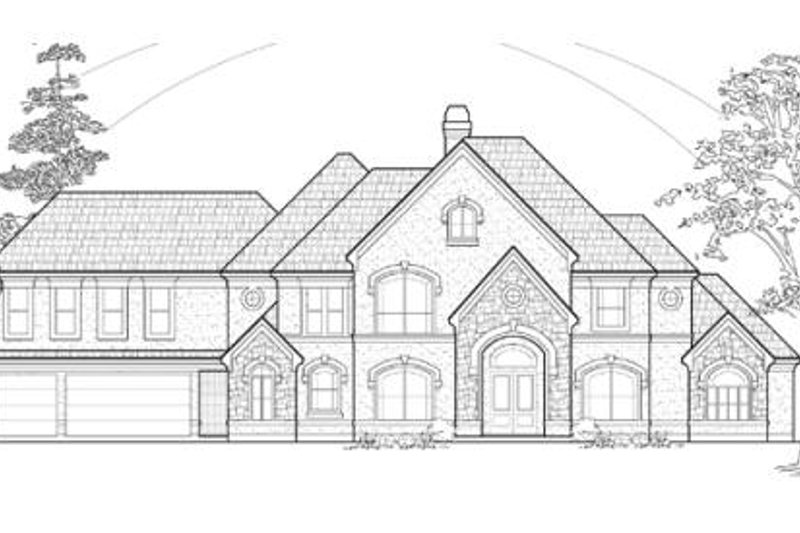 Traditional Exterior - Other Elevation Plan #61-175 - Houseplans.com