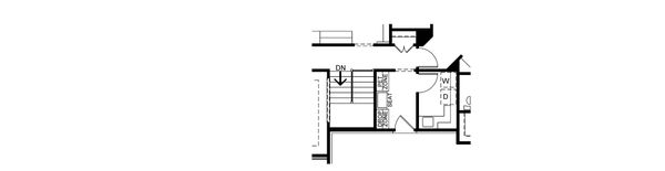 House Plan Design - Optional Basement Stair Placement