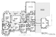 European Style House Plan - 4 Beds 4.5 Baths 3423 Sq/Ft Plan #310-230