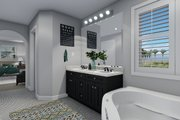 Traditional Style House Plan - 3 Beds 2.5 Baths 2026 Sq/Ft Plan #1060-49 Interior - Bathroom